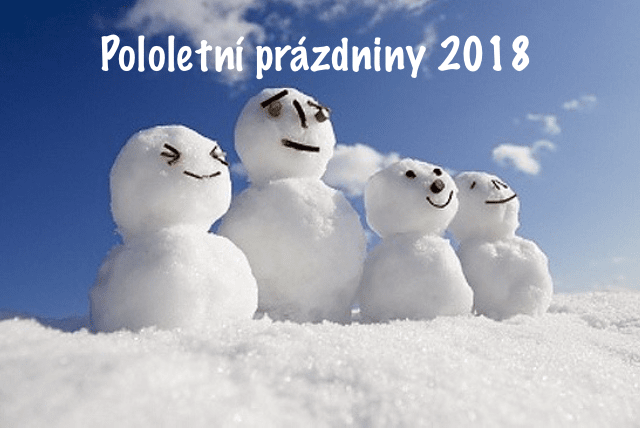 Výsledek obrázku pro pololetní prázdniny 2018